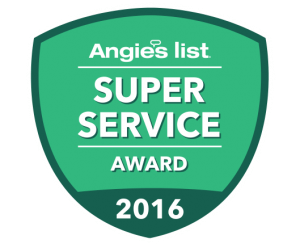 Angie's List Super Service Award 2016